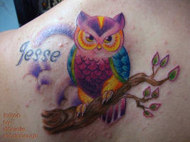 10.26.2011 colorbomb owl by koanodan