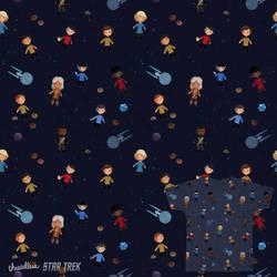 Star Trek pattern by Blumina