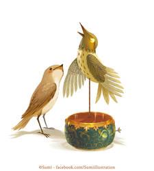 Sing Sweet Nightingale by Blumina