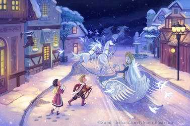 The Snow Queen - The Queen by Blumina