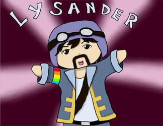 Skylord Lysander (Chibi) by Vani11aSky