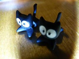 Kitty Earrings by Elofan74