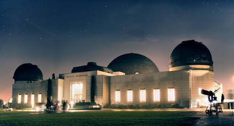 Griffith Observatory by geometricphotos