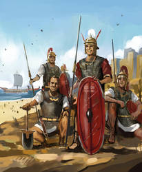 Laughing Legionaries by lathander1987