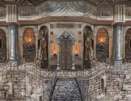 Dungeon enterance by lathander1987