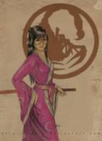 Bayushi Naname by Bayra