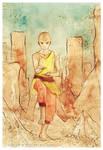 Avatar: Aang by Rocktuete