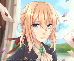 Violet Evergarden by Akashicchan