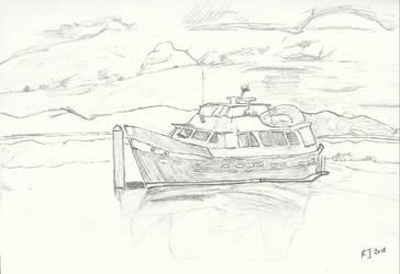 D'albora marina boat by goldenug
