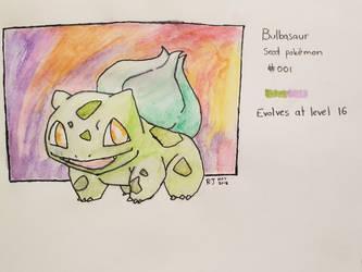 Bulbasaur #001 by goldenug