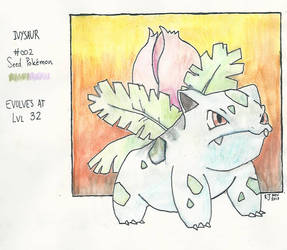Ivysaur #002 by goldenug