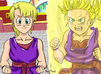 DBZ OC by x-heartaffairs-x