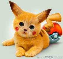 The Real Pikachu by Lagutin