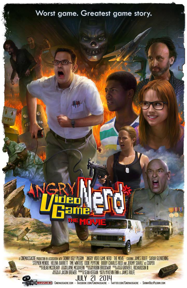 AVGN The Movie poster by Lagutin