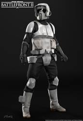 Star Wars Battlefront II: Scouttrooper (Render 2) by MarkusRollo