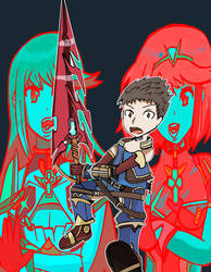 Xenoblade chronicles 2 by Helsaabi