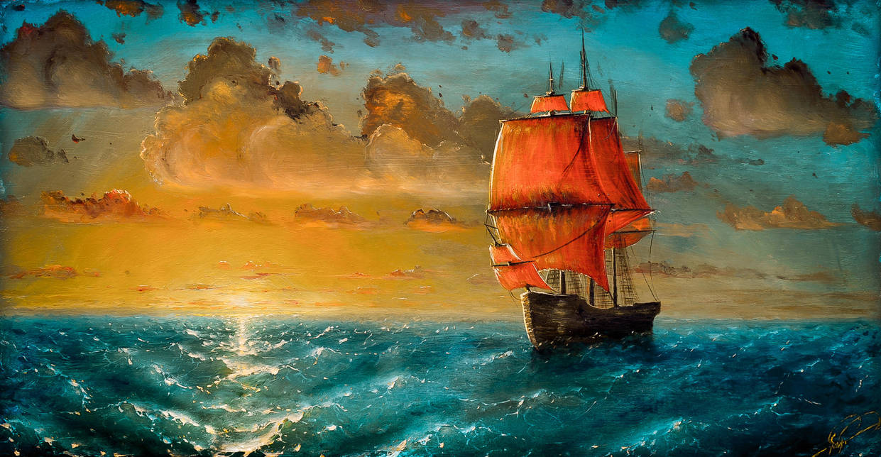 Scarlet sails by hitforsa
