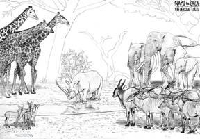 The Last Unicorn by namu-the-orca