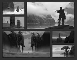 Composition Sketches by EytanZana