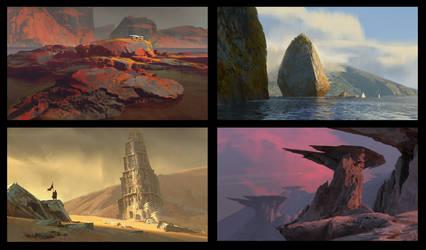 Various sketches by EytanZana