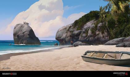 Uncharted 4 - Tropical Beach by EytanZana