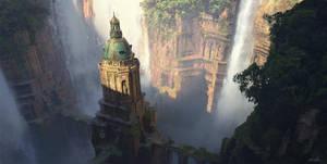 Sandstone Falls by EytanZana