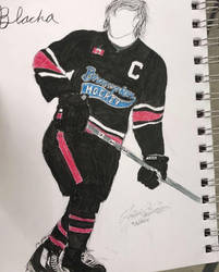 Hockey Player by tayvalkyrie