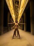 Golden Hallway + the Goddesses by DurasMox