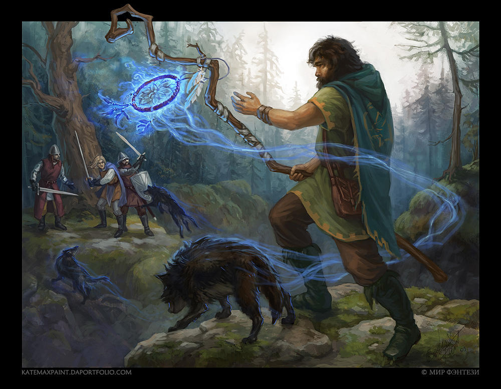 Wolves Summoner by KateMaxpaint