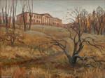 Ruined homestead by KateMaxpaint