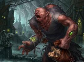 Servant of the underworld by KateMaxpaint