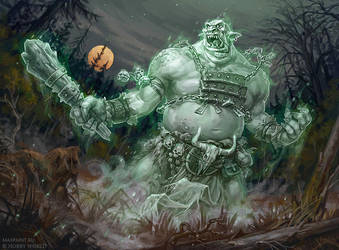 Ghost troll by KateMaxpaint