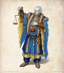 Merchant of Cumo by KateMaxpaint