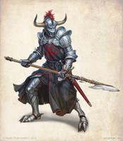 Evil Templar by KateMaxpaint
