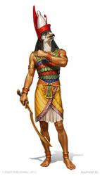 Horus by KateMaxpaint