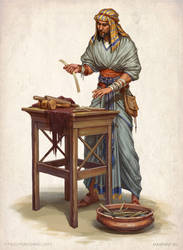 Making papyrus by KateMaxpaint