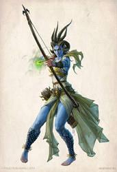 Pairaka sorceress by KateMaxpaint