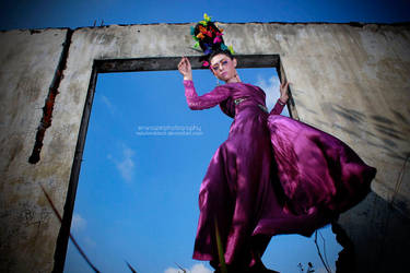 Purple Angel by nelulanddsck