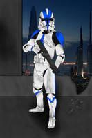Clone Trooper by JediAnakinSkyguy