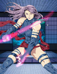 Stanley Lau-Artgerm Psylocke - Manga-Anime Convert by Nightphoenix2