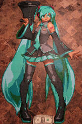 Hatsune Miku by Wacker00