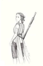 Rey 9-14-18 by CaptainPharos