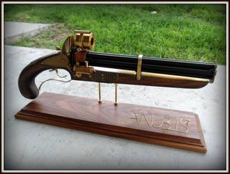 Anubis Steamgun by ShadowArcher80