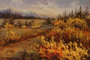 Autumn valley. by herrerojulia