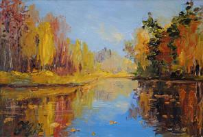 Autumn improvisation. by herrerojulia