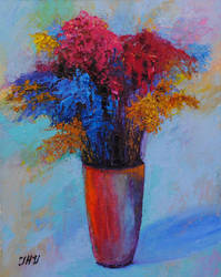 Surrealistic bouquet. by herrerojulia