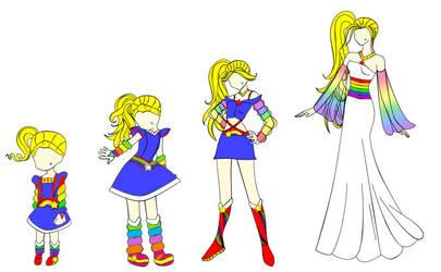 Rainbow Brite Growing Up by Ranafroggie