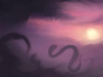 Soaring Snake by DM7