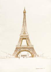 Eiffel Tower by DM7
