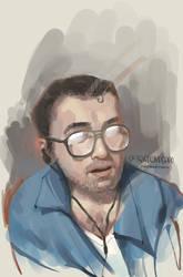 Live Portrait Practice: Grigoriypeppo by DM7